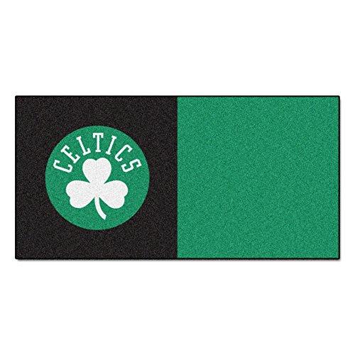 FANMATS NBA Boston Celtics Nylon Face Team Carpet Tiles by Fanmats