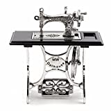 #10: cheerfullus Mini Vintage Sewing Machine,Miniature Dollhouse Furniture Dolls House Accessories Crafts Decoration
