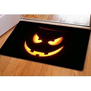 Para U diseños Cool Halloween Decor habitación alfombra alfombras multiusos tabla Mat