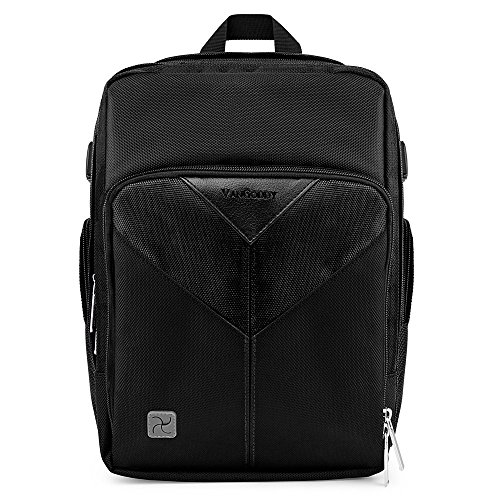 Photography Black Backpack Protective Gadget Bag w/ Shockproof Insert for Sigma DP0 DP1 DP2 DP3 Quattro SD1 Merrill by Vangoddy