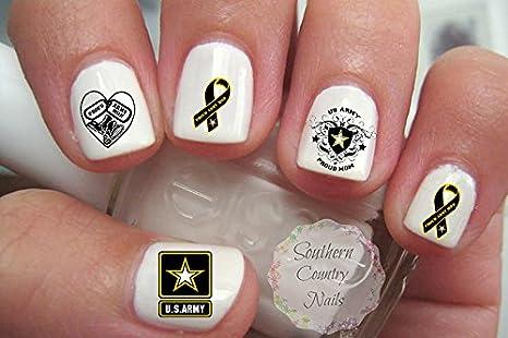 Amazon.com: Ejército Militar mamá adhesivos para uñas ...