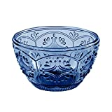 blue glass bowl - Trestle Collection, Small Bowl, Dark Blue