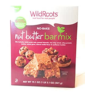 Bar Snack Mix   WildRoots No-Bake Nut Butter (2-Pack) Homemade, Healthy Dessert...: Amazon.com