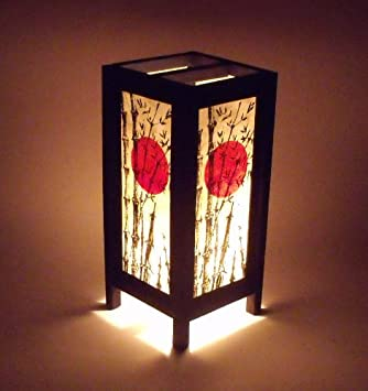 Sonne Japanische Lampe Papier Bambus Japanische Deko Lampen