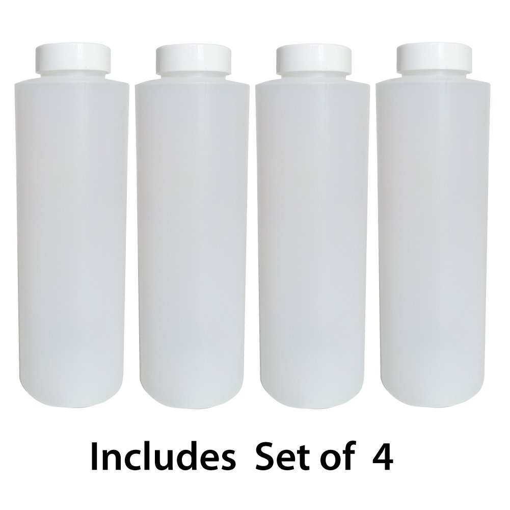 Set of 4 goKelvin X-Large 16oz Coolers and Insulated Water Jugs for Drink Dispensers myColdCup Ice Stick