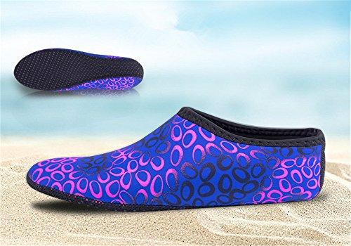 Corsa di 7 Juleya Snorkeling Scarpette Surf da Esercizi Donna Mare Scarpe Scarpe Adulti Spiaggia Immersione Bagno Unisex da Uomini Yoga Scoglio da wqaHA