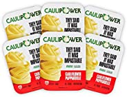 CAULIPOWER Pappardelle Cauliflower Pasta, Frozen (6 Pack), 8.8 ounce