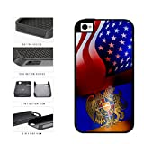 Armenia and USA Mixed Flag 2-Piece Dual Layer Phone Case Back Cover Apple iPhone 4 4s includes BleuReign(TM) Cloth and Warranty Label