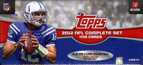 NFL 2012 Topps Factory Football Card Complete Set