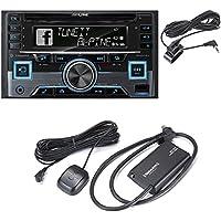 Alpine CDE-W265BT (CDEW265BT )CD receiver + SiriusXM SXV300 Connect Vehicle Tuner Car Satellite Radio