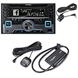 Alpine CDE-W265BT (CDEW265BT )CD receiver + SiriusXM SXV300 Connect Vehicle...