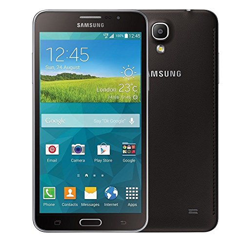 Samsung Galaxy Mega 2 Duos G7508Q - Black Unlocked Factory (Dual Sim) INTERNATIONAL VERSION NO WARRANTY (Galaxy New Samsung Mega Unlocked)
