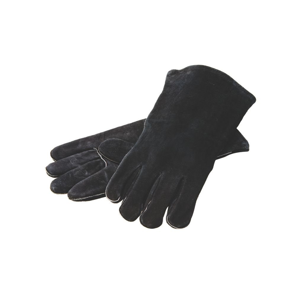 Lodge Manufacturing A5-2 Fully Lined Brushed Leather Gloves - Pair by Lodge