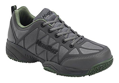Shoe Grey ESD Men's Nautilus Work N2117 BAInax