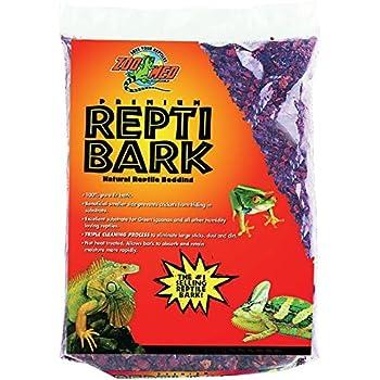 Amazon Com Zoo Med Reptile Bark Fir Bedding 4 Quarts