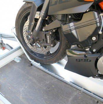 Set 1 X Motorrad Standschiene Mit Haltebügel Inkl Stahl Auffahrschiene Auto