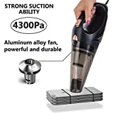 Car Vacuum Cleaner, DC 12V High Power with Stronger Suctio, Portable Handheld Vacuum Cleaner for Car, Wet Dry Use