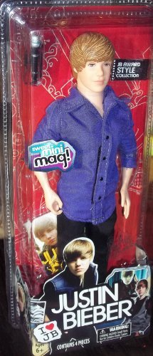 Justin Bieber JB Award Style Collection doll