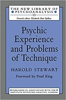 Book Psychic Experience and Problems of Technique (New Library of Psychoanalysis)