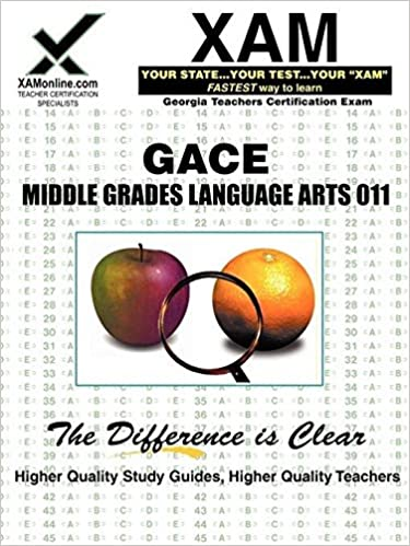 GACE Middle Grades Language Arts 011