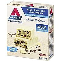 Atkins Advantage Cookies & Cream Barritas, Paquete