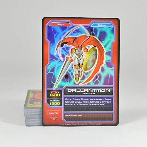 (2004 BANDAI Digimon Monsters Card Game Deck Gallantmon (50 Cards))