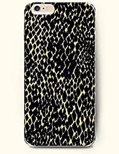 Black And Beige Irregular Dots - Animal Print - Phone Cover for Apple iPhone 6 Plus ( 5.5 inches ) - OOFIT Authentic iPhone Case