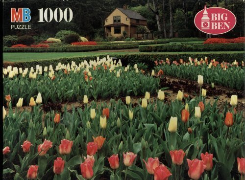 Tulip Photograph (Big Ben 1000 Piece Puzzle - Shore Acres State Park Botanical Gardens, Oregon - Puzzle Is Dated 1994 so Photograph Is At Least That Old)