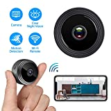 Cheap Mini Hidden Camera WiFi, Spy Camera HD 1080P Night Vision Motion Detection for Home Office Security Cam Nanny Cam, IP Camera Recording Using Indoor & Outdoor
