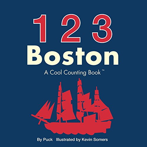 123 Boston (Cool Counting Books) (Boston Swan Boats)