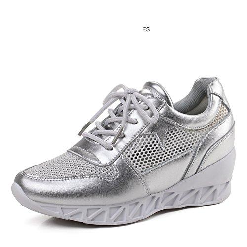 Printemps Chaussures De Sport Loisir,Chaussures Mince De Style Coréen,Mesh Respirant Sneakers Femme,Coins C