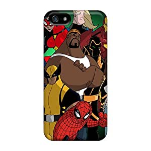 High Quality DustinHVance Avengers I4 Skin Case Cover Specially Designed For Iphone - 5/5s