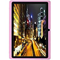 Egmy 7 Tablet - Android 4.4, Quad Core,1024x600 HD Screen, Dual Camera, Bluetooth, Wi-Fi, 8GB, 3D Game Supported(Pink)