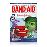 Band-Aid Brand Adhesive Bandages, Disney/Pixar Inside Out Characters, Assorted Sizes, 20 ct