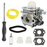 Mckin 753-06190 WT-973 Carburetor with Air Filter Adjustment Tool for Troy Bilt TB22EC TB32EC YM21CS Craftsman Bolens MTD Cub Cadet Yard Man String Trimmer