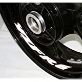 AFBA Yamaha YZF R6 v2 Inner Rim Motorcycle Sticker Decal Stripe Gloss White