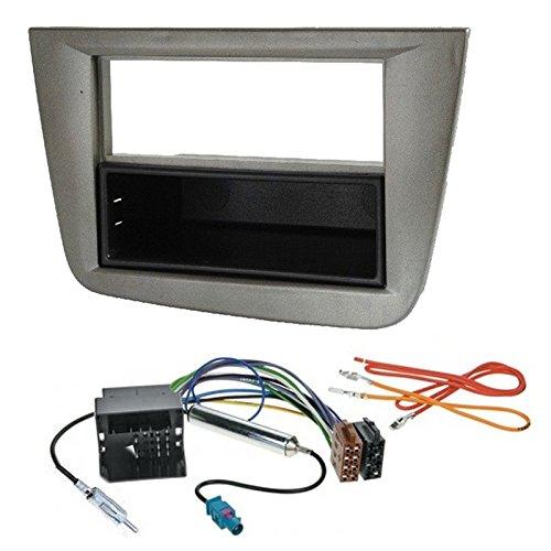 Kit di installazione autoradio 2 DIN, colore: Grigio Sound-Way