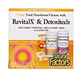 Natural Factors – RevitalX & Detoxitech, 7 Day Total Nutritional Cleansing Program, 7 Day Kit For Sale
