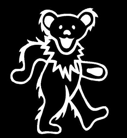 Amazoncom Lli Grateful Dead Dancing Bear Decal Vinyl Sticker
