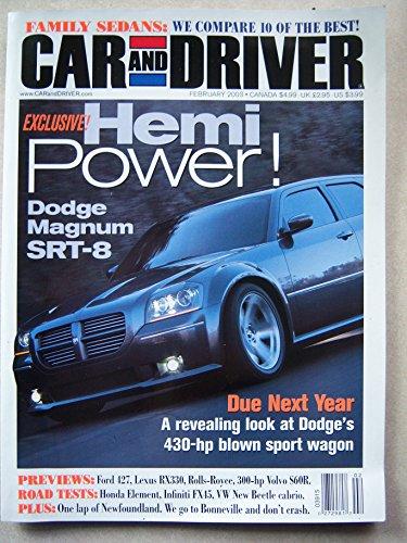 - Car and Driver February 2003 - Hemi Power Dodge Magnum SRT8 (Vol 48 No 8)