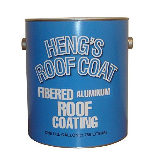 Heng's 48128-4 Fibered Aluminum Roof Coating - 1 Gallon