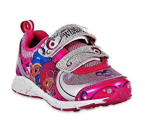 Image of Nickelodeon Girls' Shimmer & Shine Pink Athletic Shoe (10)