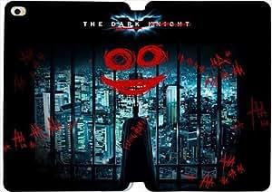 [PU del tirón del cuero] mini iPad funda,The Dark Knight Joker [Theme] iPad Mini 4 funda [Con Pantalla Protecto] JL9798