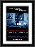 Paranormal Activity: The Ghost Dimension 28x38 Double Matted Large Large Black Ornate Framed Movie Poster Art Print