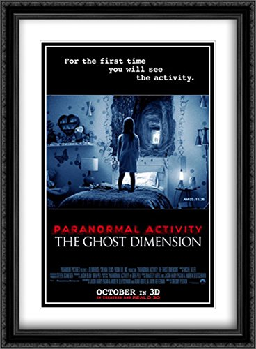 Paranormal Activity: The Ghost Dimension 28x38 Double Matted Large Large Black Ornate Framed Movie Poster Art Print by ArtDirect