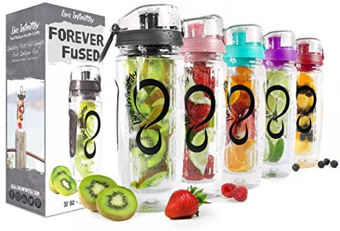 Live Infinitely Infuser Water Bottles product image