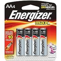 ENERGIZER AA Size Alkaline General Purpose Battery - 1150 mAh - AA - Alkaline - 1.5 V DC / E91BP4ENE /