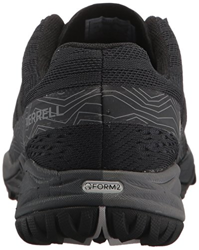 Siren Hiking Rise Low E Q2 Boots Merrell Hex Women's Black Super Black Mesh Hqwx5f8
