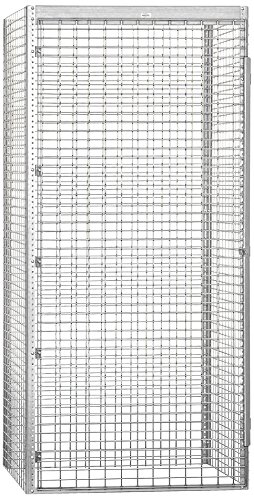 Salsbury Industries Bulk Storage Locker Single Tier Starter, 48-Inch, 36-Inch