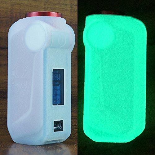 - ModShield for VOOPOO MOJO Silicone Case ByJojo Cover Shield Protective Sleeve Wrap Skin (Glow-in-the-Dark)